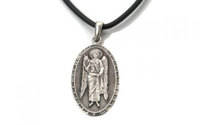 religious stone pendants