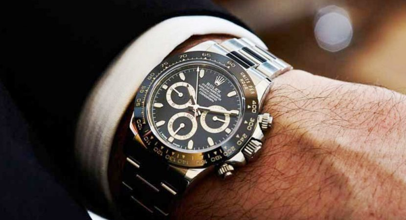 classic look with Rolex