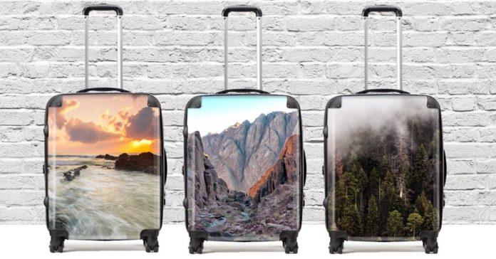 customised luggage Singapore.