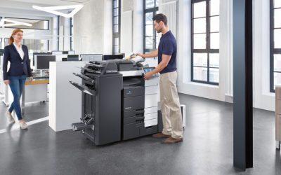Minolta production printers