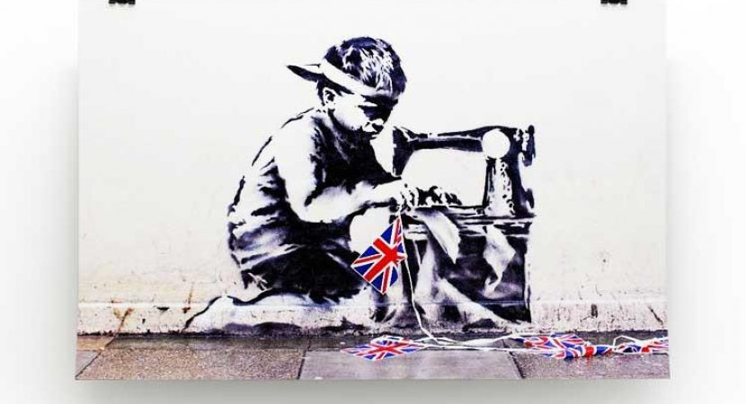 Show the beauty of your mind with Banksy Canvas