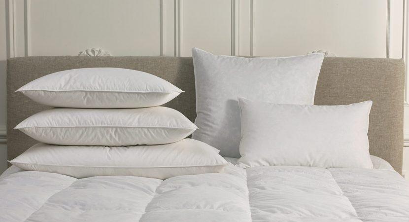 Goose down pillow