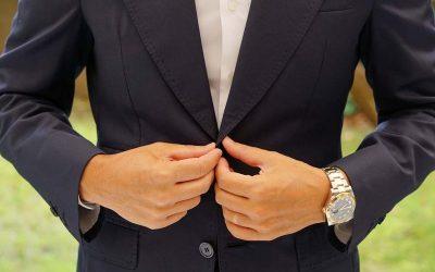 black wedding bow ties
