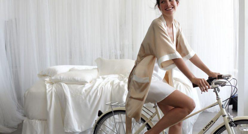 silk nightgown
